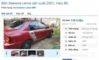 Những chiếc ô tô cũ đang rao bán giá 120 triệu đồng tại Việt Nam