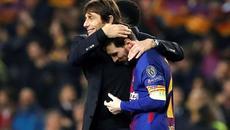 """Conte: """"Messi siêu đỉnh, nhưng Chelsea không đáng thua"""""""