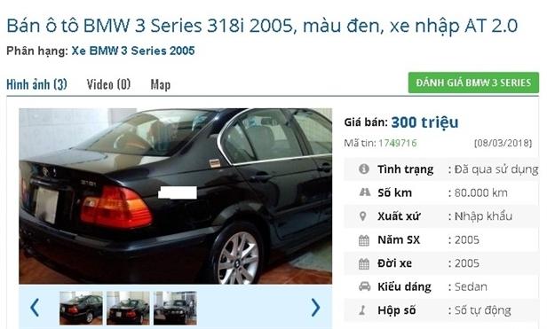 Top ô tô sedan cũ giá chỉ từ 200 triệu đồng