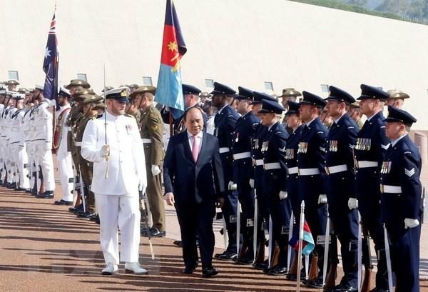 Thủ tướng Nguyễn Xuân Phúc,Nguyễn Xuân Phúc,Thủ tướng,Australia
