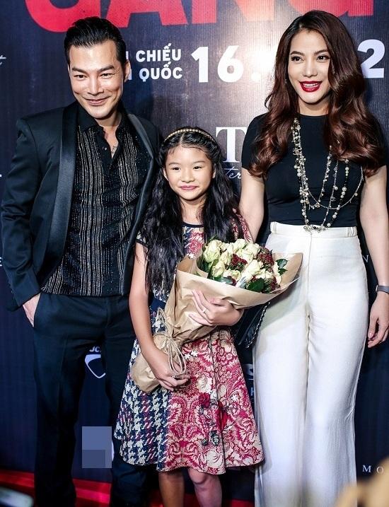 Trương Ngọc Ánh đến chúc mừng chồng cũ Trần Bảo Sơn ra mắt phim