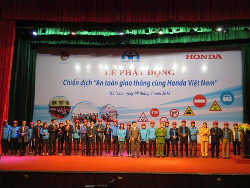Honda Việt Nam đẩy mạnh hoạt động an toàn giao thông