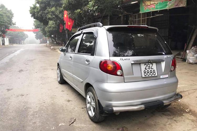 Ô tô biển tứ quý 8 Hà Nội rao bán giá hơn 100 triệu, ngang bằng xe SH