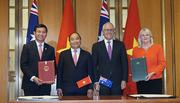 Việt – Úc ký hàng loạt văn kiện hợp tác