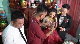 Cô dâu Cà Mau được tặng 115 cây vàng trong đám cưới gây sốt