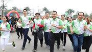 Nhân viên, thành viên Herbalife Việt Nam chạy hưởng ứng ASIAD 18