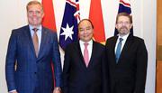 Thủ tướng hội kiến lãnh đạo Quốc hội Australia