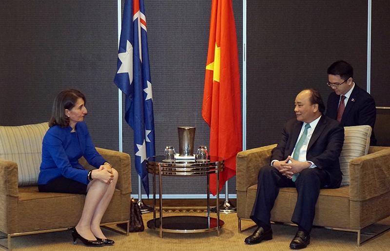 Thủ tướng Nguyễn Xuân Phúc,Australia,Sydney