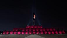 Kỳ Đài Huế rực rỡ ánh sáng LED mỹ thuật