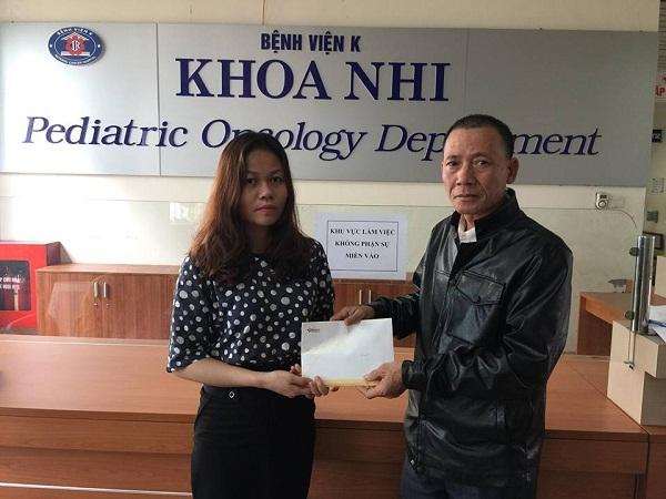 Cơ hội chữa bệnh đến với em Lò Thị Giang bị ung thư xương
