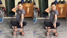 Phương pháp đơn giản để luyện công phu đập gạch