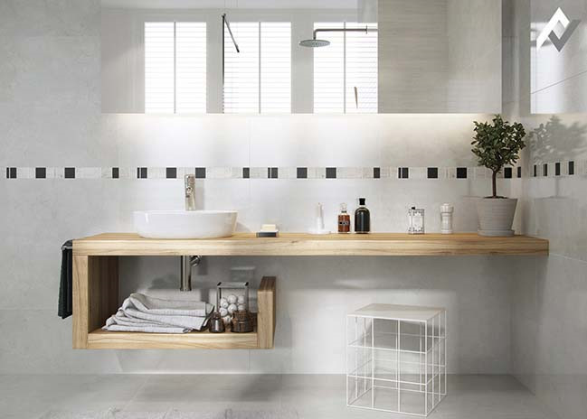 10 mẫu thiết kế phòng tắm đẹp phong cách hiện đại 2018