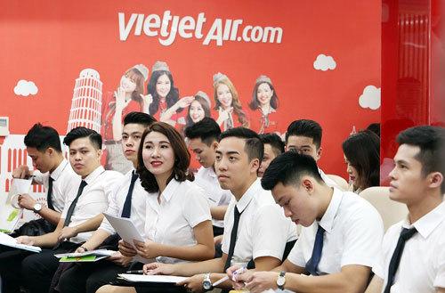 Cơ hội trở thành tiếp viên Vietjet