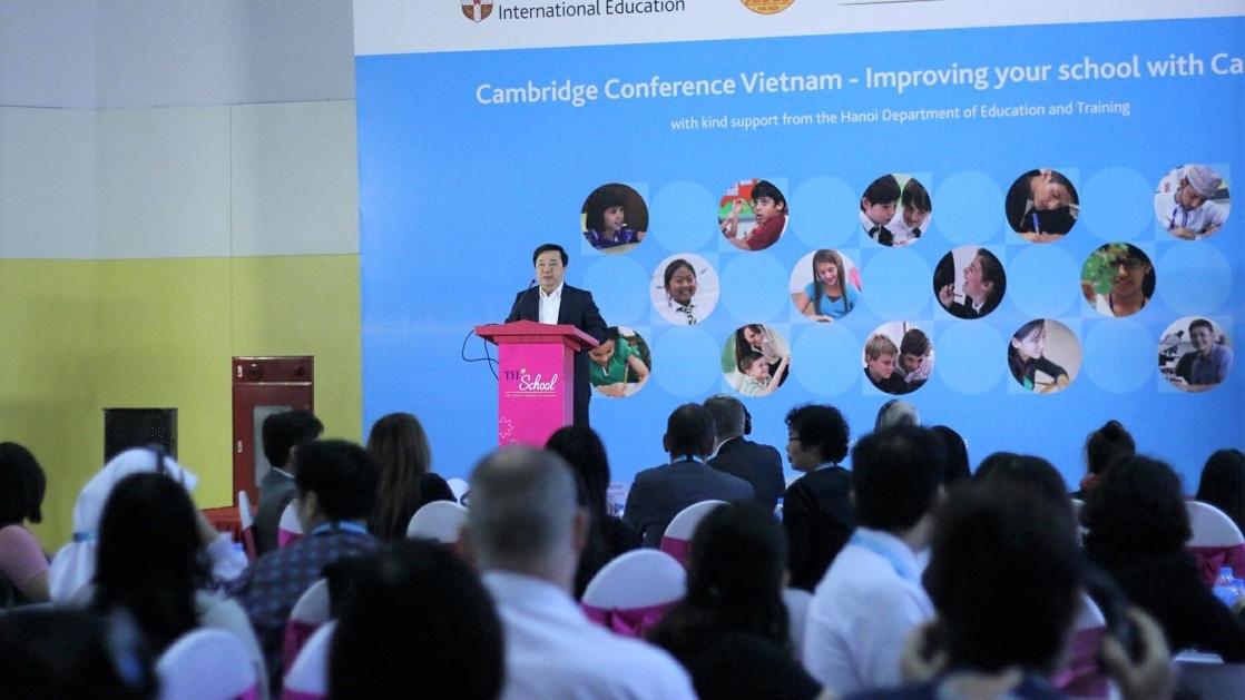 ĐH Cambridge đặt mục tiêu mở trung tâm đào tạo giáo viên dạy song bằng tại Việt Nam