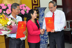 Nữ Chủ tịch LĐLĐ TP.HCM làm Bí thư Q.1