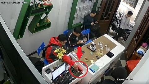 Trộm điện thoại 15/3/2018