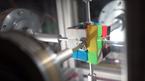 Xem robot xoay rubik 6 mặt nhanh hơn cả chớp mắt