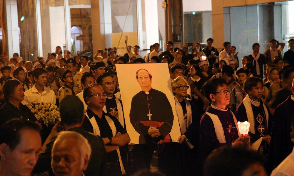 Tổng giáo Phận TP.HCM,Tổng Giám mục Phaolo Bùi Văn Đọc,Nhà thờ Đức Bà