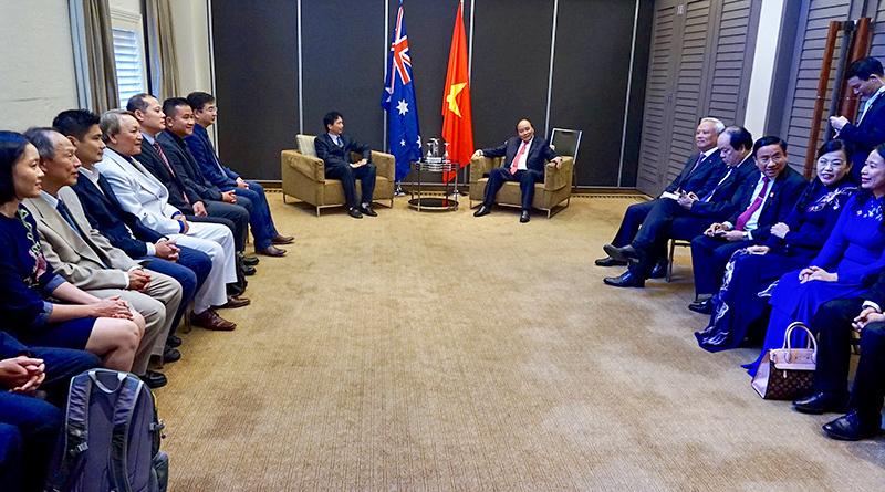 Thủ tướng,Thủ tướng Nguyễn Xuân Phúc,Nguyễn Xuân Phúc,Australia,người Việt