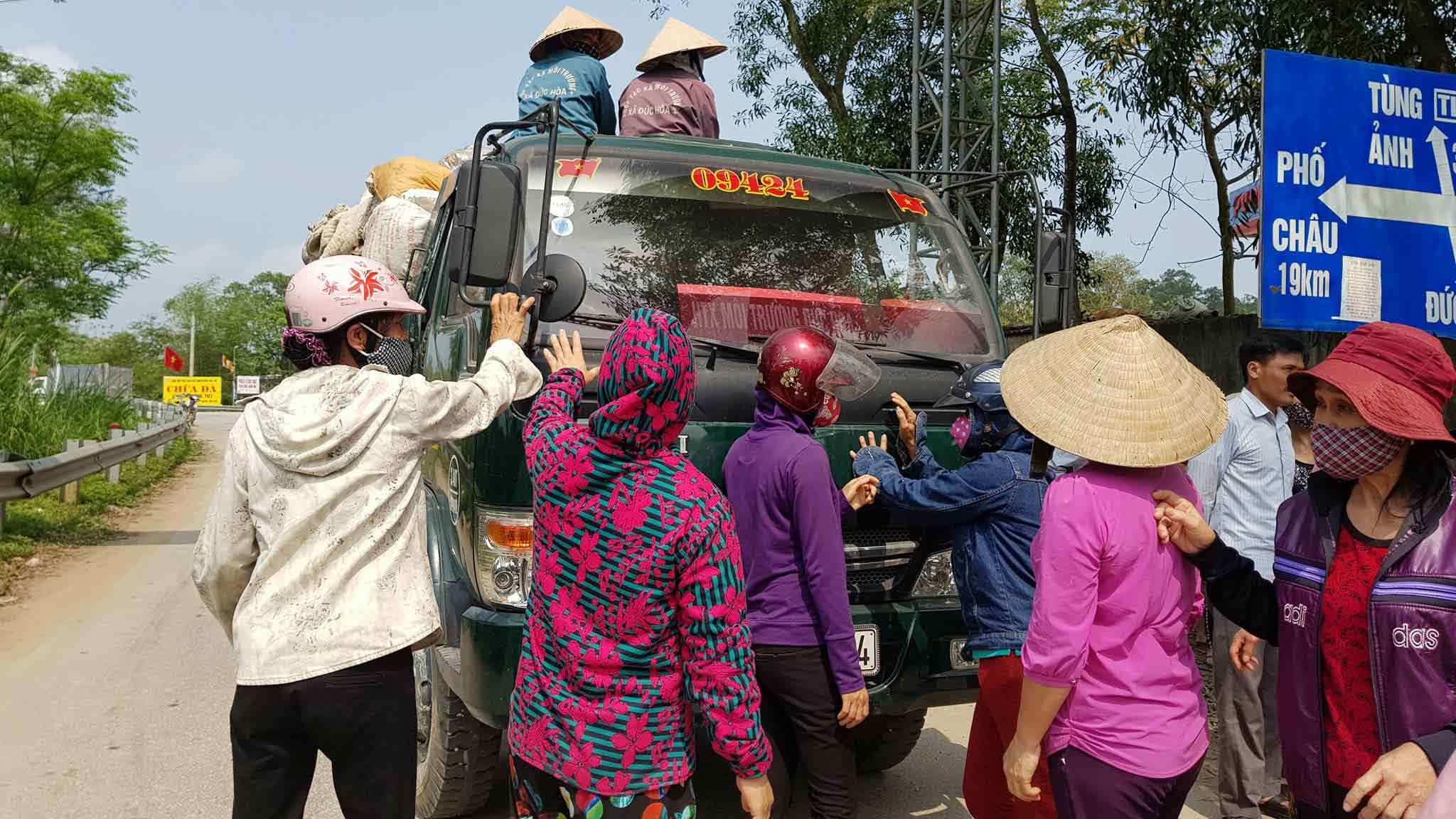ô nhiễm,ô nhiễm môi trường,Hà Tĩnh,bí thư huyện