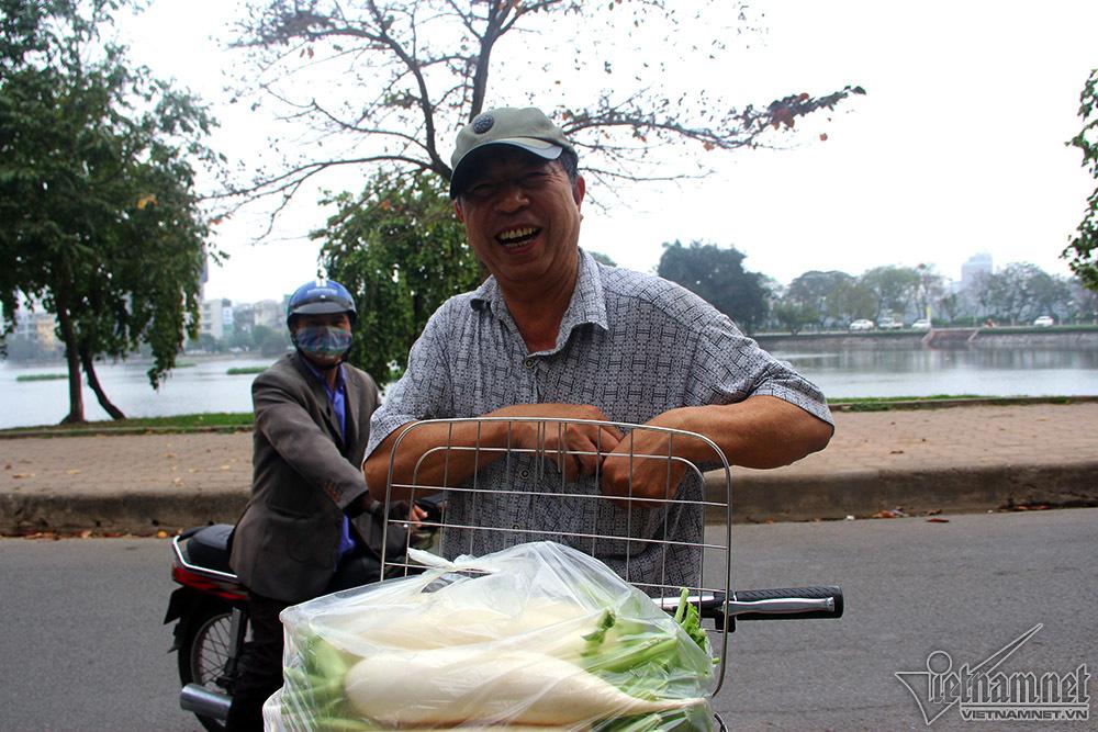 giải cứu củ cải,nông sản giảm giá,củ cải ế,Hà Nội