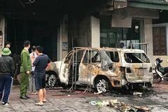 Đốt xe ô tô chủ nợ trong đêm để trả thù cho vợ