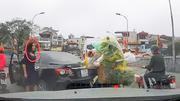 Nữ tài xế quay đầu trên cầu Cót bị tước giấy phép lái xe