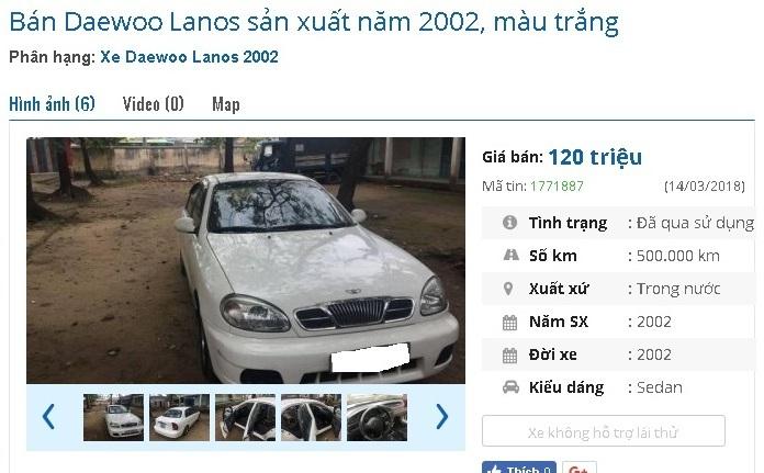 Top 4 ô tô cũ ít hỏng vặt được rao bán với giá dưới 200 triệu