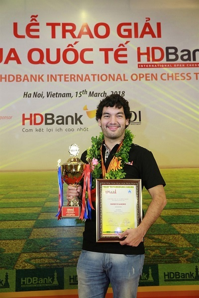 Cờ vua,Cup HD Bank 2018