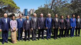 Lãnh đạo ASEAN - Australia bàn định hướng Đối tác Chiến lược