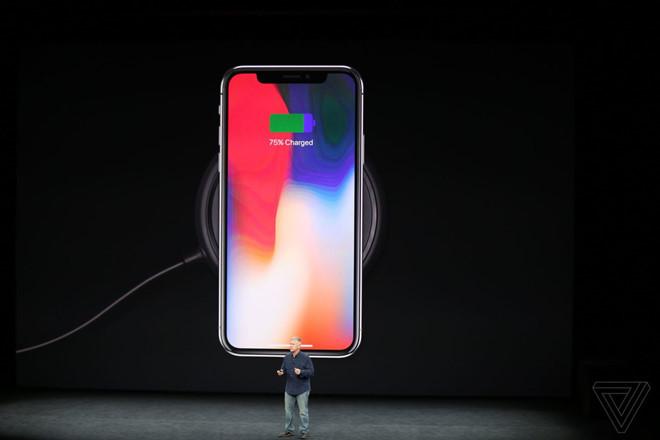Sạc không dây khiến pin iPhone X nhanh chai