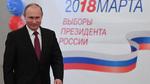 Putin thắng áp đảo, tiếp tục làm Tổng thống Nga