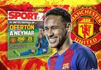 Neymar bất ngờ chọn MU, Real đạt thỏa thuận Salah
