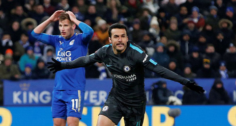 Video Leicester 1-2 Chelsea