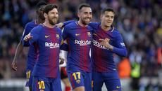 Messi tỏa sáng, Barca tiệm cận ngôi vương