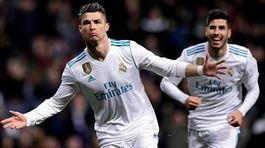 Ronaldo lập poker, Real Madrid thắng kiểu tennis