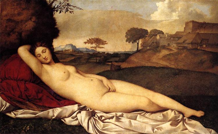 'Sleeping Venus' - Biểu tượng của người đẹp ngủ