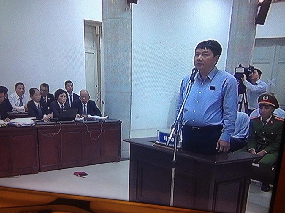 Hôm nay, ông Đinh La Thăng bị đưa ra xét xử lần hai