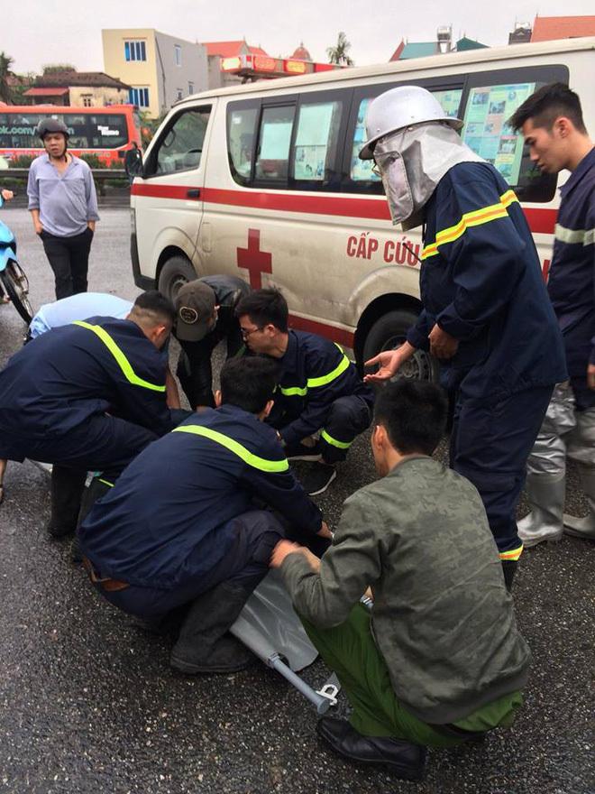 Xe chữa cháy chạy ngược chiều đâm xe khách trên cao tốc, 1 chiến sĩ tử vong