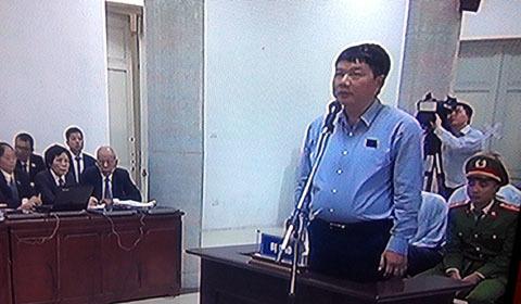 xét xử ông Đinh La Thăng