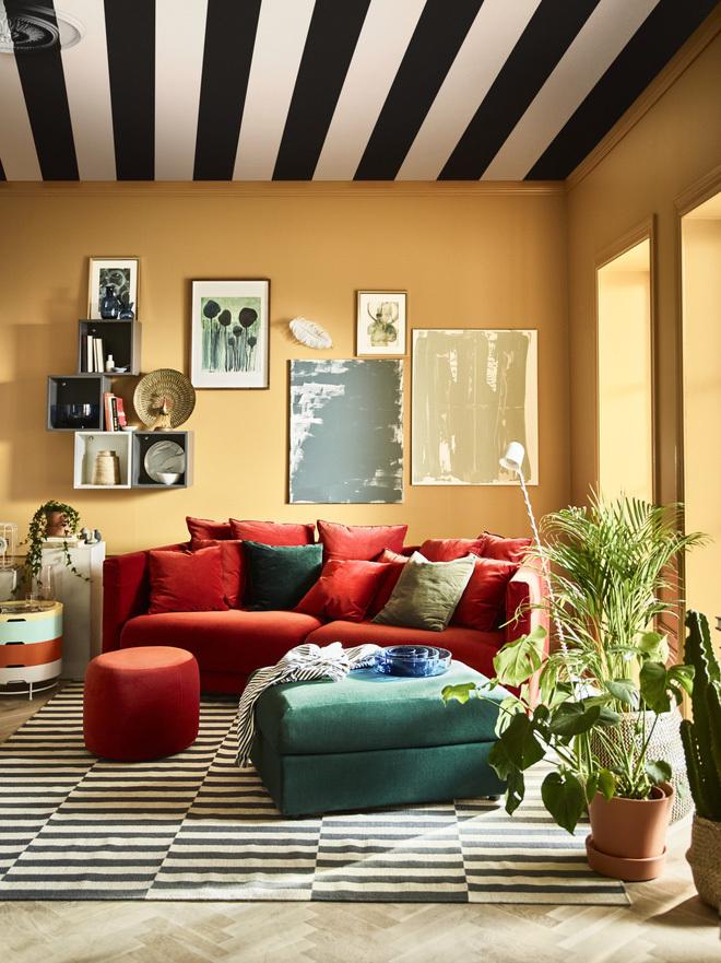 Nội thất phòng khách cực ấn tượng với sofa