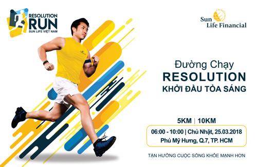 Sun Life Việt Nam tài trợ chính giải chạy bộ tại TP.HCM