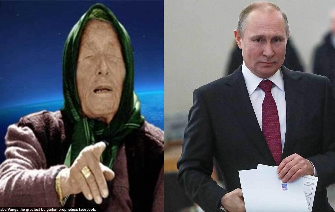 Nhà tiên tri mù Vanga đoán trúng về Putin