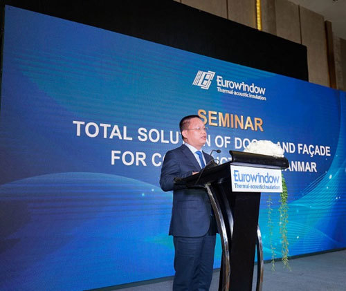 Eurowindow đầu tư tại Myanmar