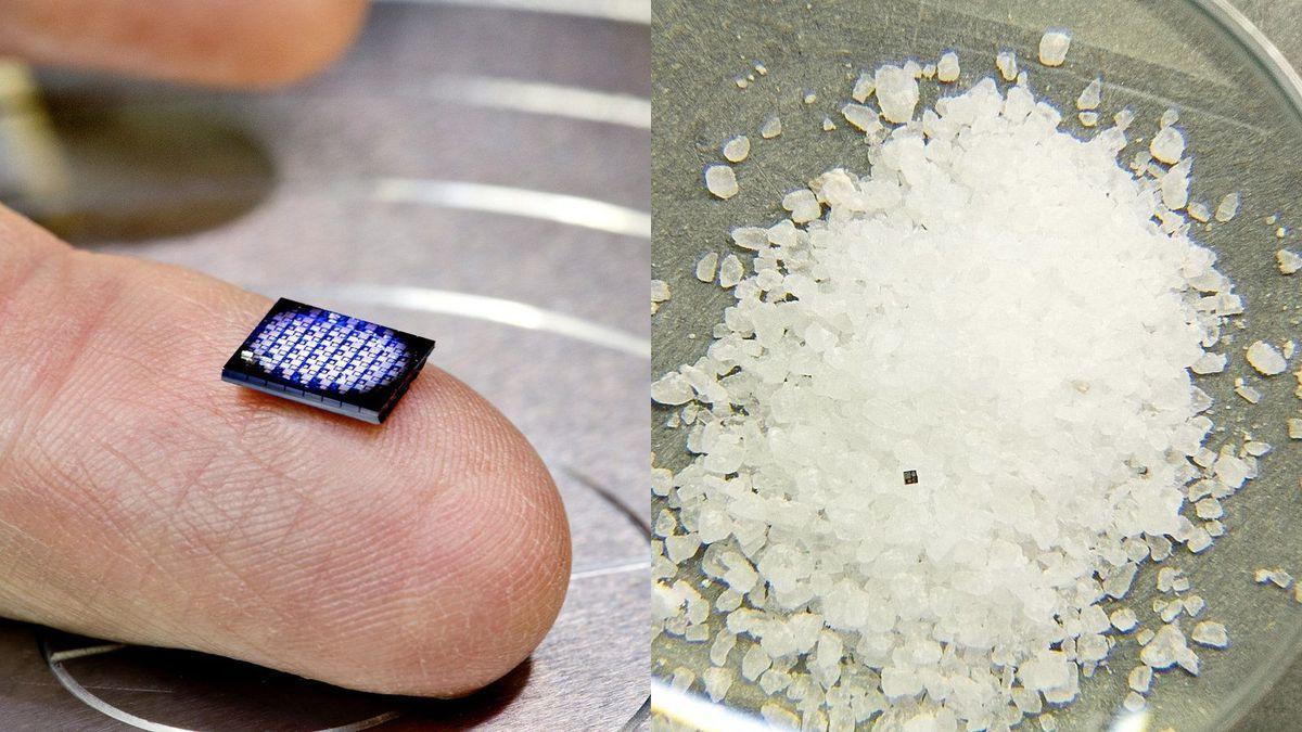IBM trình làng chiếc máy tính nhỏ bằng hạt muối