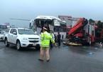 Xe cứu hỏa đi ngược chiều trên cao tốc có phạm luật?