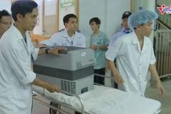 Hành trình đưa quả tim Thiếu tá quân đội vượt 1.600 km cứu người