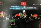 Lễ viếng Thủ tướng Phan Văn Khải