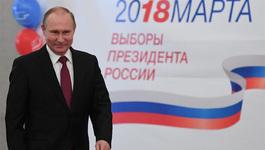 Chủ tịch nước chúc mừng ông Putin tái đắc cử Tổng thống Nga