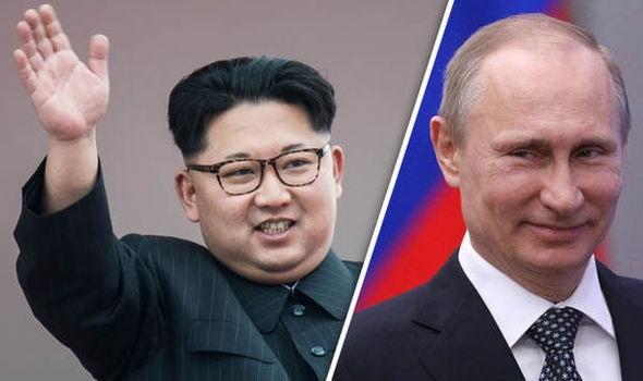 Kim Jong Un chúc mừng Tổng thống Putin tái đắc cử